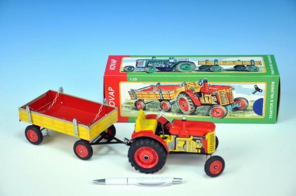 KOVAP Traktor Zetor s valníkem 1:25