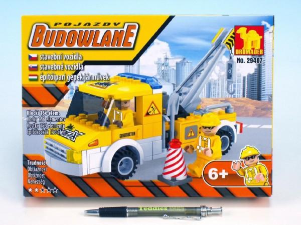 Dromader - Stavba autojeřáb