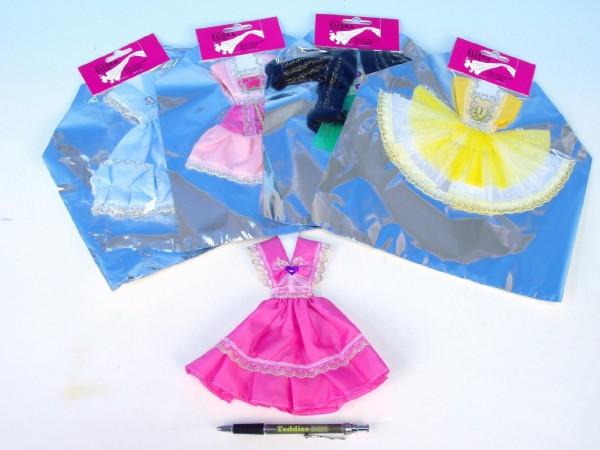 Šaty pro panenku krátké