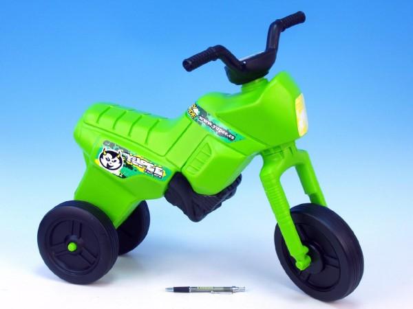 Odrážedlo Enduro větší zelené