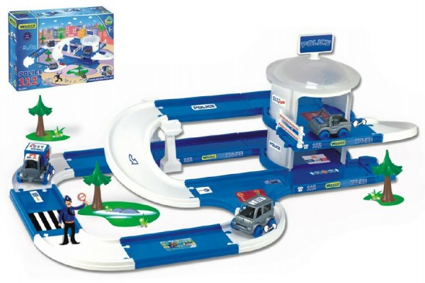 Wader Kid Cars 3D - Policie s drahou 3,8 m