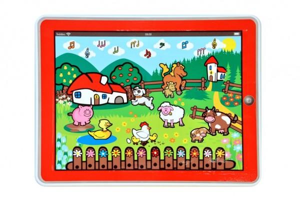 Tablet dětský Farma 24x19 cm