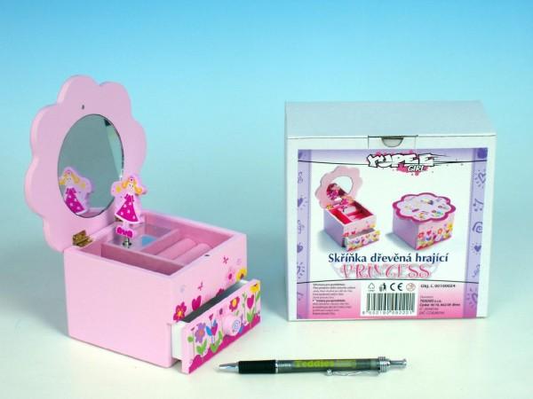 Šperkovnice dětská Princess hrající