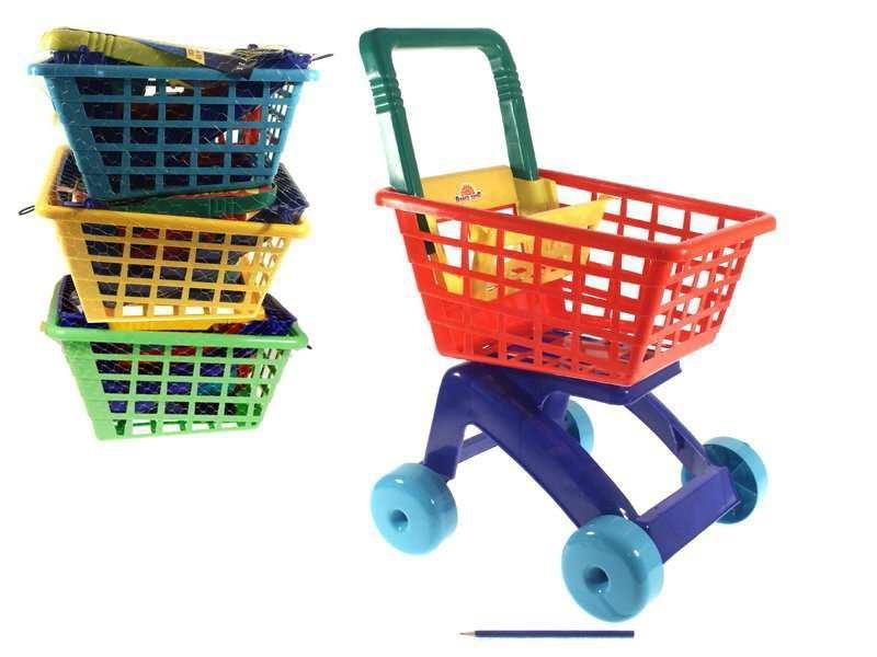 Nákupní vozík plast 59 cm