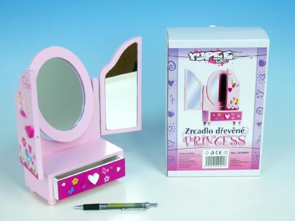 Zrcadlo oválné Princess pro panenky