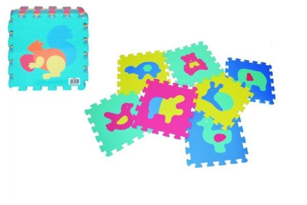 Puzzle pěnové Zvířata 30x30cm 10ks