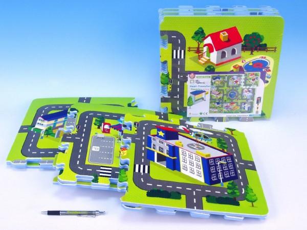 Puzzle pěnové Město
