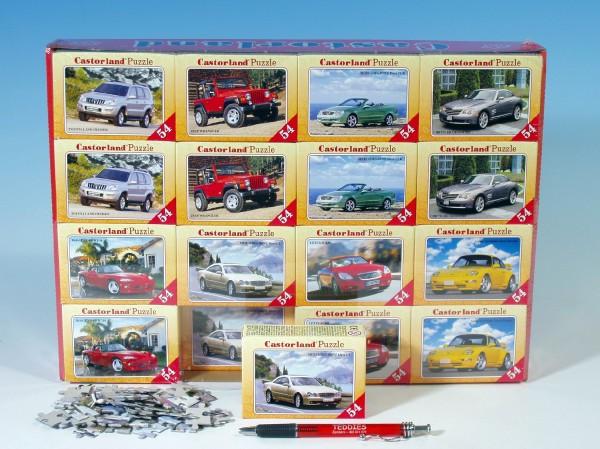 Mini puzzle Auta