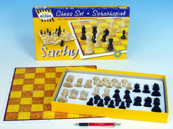 Šachy Detoa STEUTON dřevěné