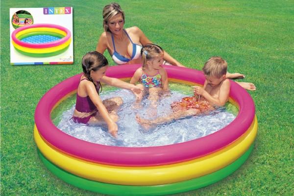 Bazén nafukovací Intex 114cm