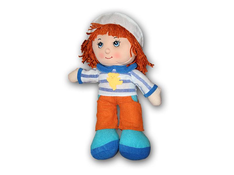 Hadrová panenka - chlapeček 36 cm
