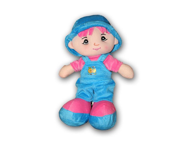 Hadrová panenka - chlapeček 25 cm