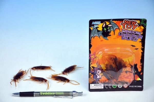 Hmyz plastový 5 ks