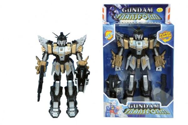 Fotografie Robot Gundam Transformer 30 cm