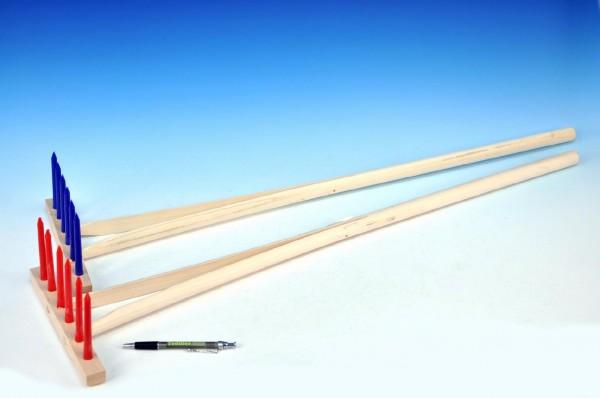 Hrábě dětské dřevo/plast 90 cm
