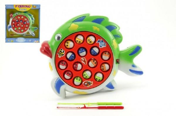 Hra Rybář - ryby s magnetem 24x23 cm