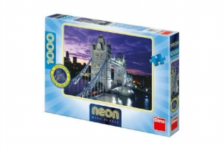 Puzzle 1000 ks Tower Bridge svítící ve tmě