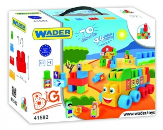 Wader kostky - Middle blocks auto 70ks