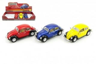 Kinsmart model VW Classical Beetle kov 18cm