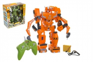 RC Robot Transformer War Lord plast 33 cm
